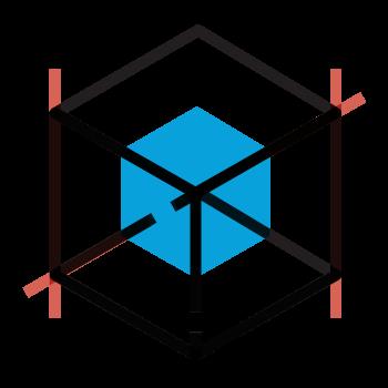Blockchain program icon