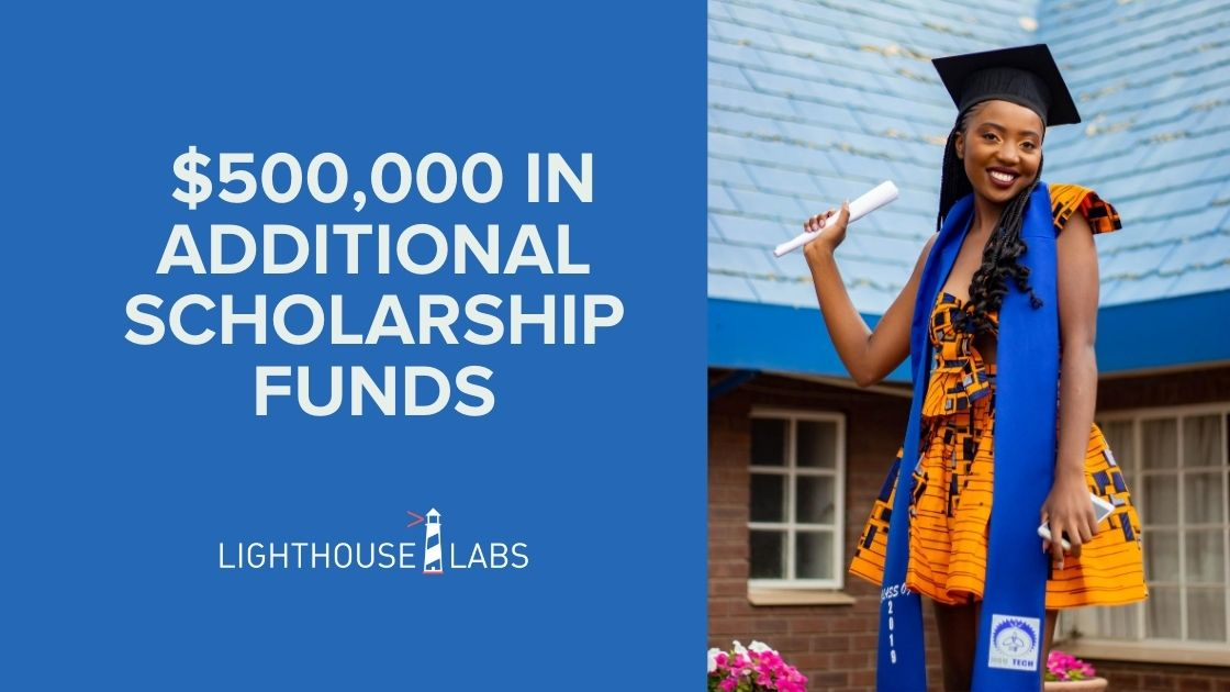 Lighthouse labs covid 19 scholarship funds